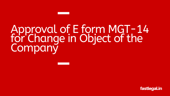 approval of MGT-14