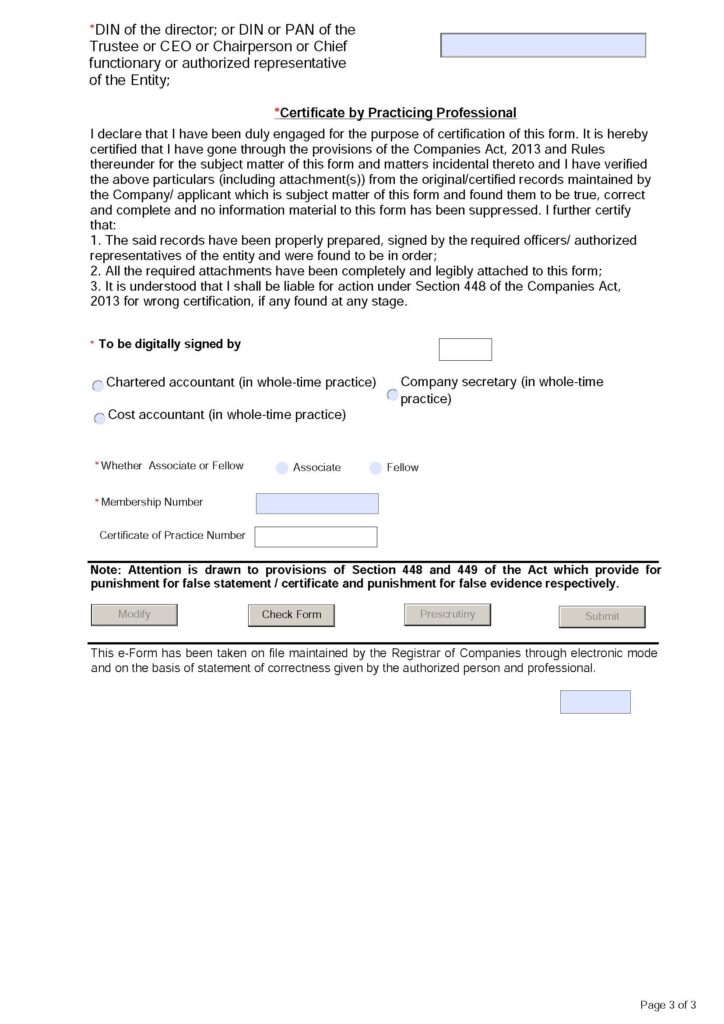 Mandatory Requirement for CSR Registration Number for Undertaking CSR Activates by NGO's 3
