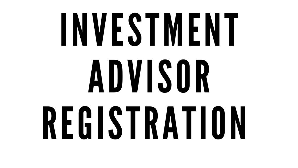 SEBI Registered Investment Advisor