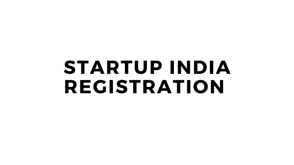 Documents required for Startup Registration